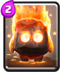 fire spirits clash royale