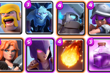 Get to Arena 4 with Mini Pekka and Rage