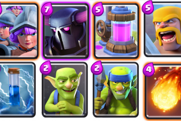 best clash royale arena 8 deck