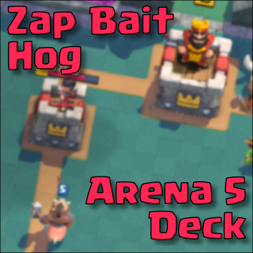 best clash royale arena 5 deck