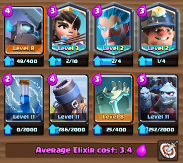 best arena 9 deck mortar cards
