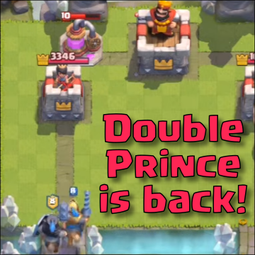 best double prince deck arena 7 clash royale