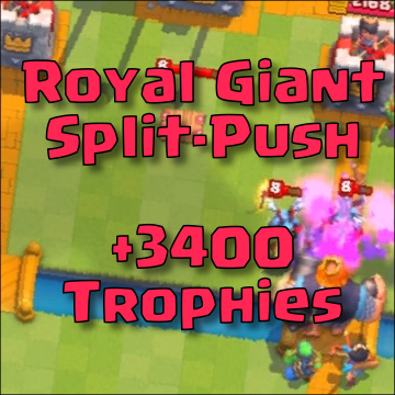 best giant royale deck arena 9 clash royale