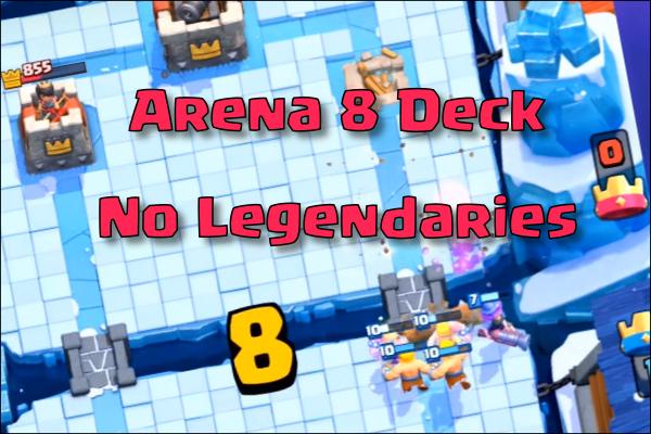 gutes deck für arena 7