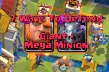 clash royale defense against giant