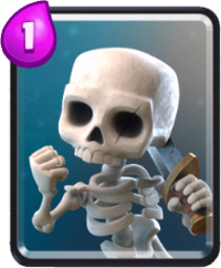 skeletons clash royale