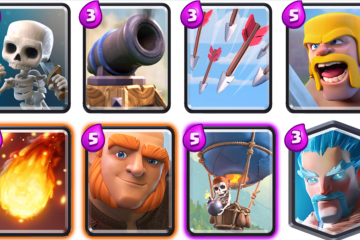 giant balloon deck clash royale