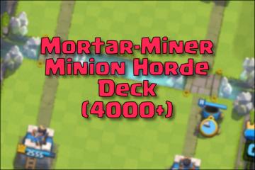 arena 9 deck 4000 trophies mortar
