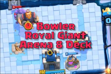bowler royal giant arena 8 deck