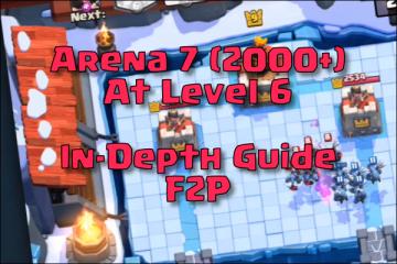 clash royale best level 6 deck