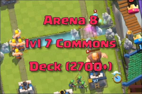 clash royale common deck